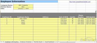 Download Free Payroll Spreadsheet Template, Payroll Spreadsheet ...