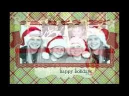 Personalized Photo Christmas Cards - YouTube