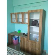brown wooden wall mounted cabinet for