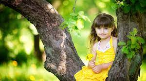 Cute Baby And Happy Smile Girl Amazing ...