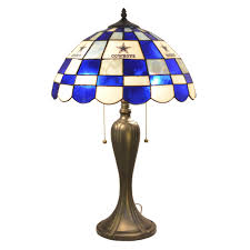 nfl 24 quot h table lamp with bowl shade wayfair
