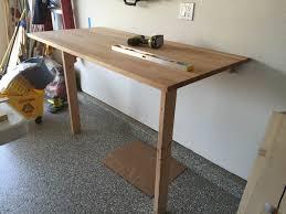 unique work table ikea the rock gerton table top drop down workbench ikea hackers