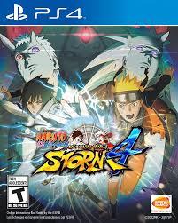 Amazon.com: Naruto Shippuden: Ultimate Ninja Storm 4 - PlayStation 4:  Bandai Namco Games Amer: Video Games