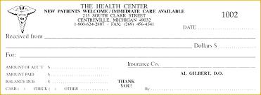 Doctor Receipt Template Doctor Invoice Template Advmobile Info