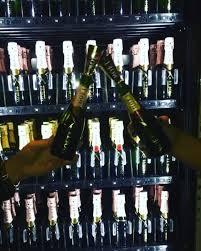 Champagne Vending Machine Vegas Gorgeous Champagne Vending Machine POPSUGAR Food