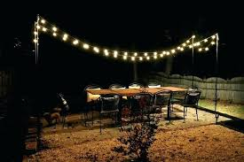 hanging outdoor string lights home decoration bulb string outdoor and lights for backyard decorating ideas led