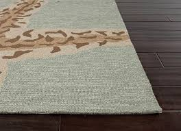 raymour and flanigan area rugs sea star silver lake blue indoor outdoor rug 5x76