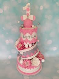 Stunning Cake For A 1 Year Old Girl - CakeCentral.com