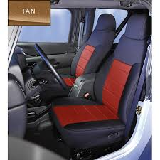 neoprene front seat covers tan 91 95
