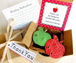 Biodegradable Paper With Flower Seeds Seed Paper Apples Teacher Gift For Valentines Day Thank You Flower Seed Apples Planting Kit Spanish Option
