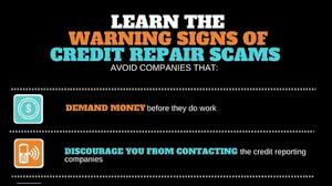 credit repair scams.  Credit Throughout Credit Repair Scams