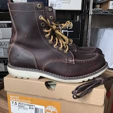 timberland earthkeepers rugged leather boot timbs brown wheat s men s shoes brown