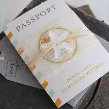 dominican republic wedding invitations destination wedding When To Mail Destination Wedding Invitations passport wedding invitation when to mail out destination wedding invitations