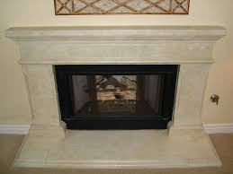 Faux Fireplace Insert Faux Stone Fireplace Remodel