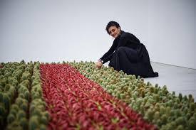 Ghada Amer Artiste Franco égyptienne A Créé Un Jardin Anti