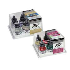 Fw Inks Colour Chart Fw Artists Acrylic Ink Daler Rowney