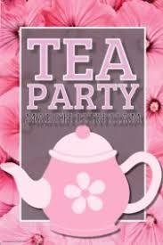 tea party templates tea party template rome fontanacountryinn com