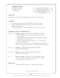 Resume Work Experience Custom Sample Resume For Work Experience With Resume Work Experience