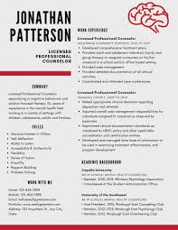 Professional Resume Templates 2013 Licensed Professional Counselor Resume Example