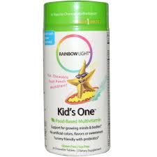 Rainbow Light Kids One Multivitamin 30 Chewables