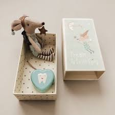 Maileg Tooth Fairy Big Brother Mouse in a Box – Wild Creek Co
