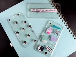 inspired diy phone case
