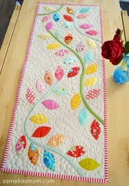 415 best table, runners images on Pinterest | Table runners ... & Bursting Buds Table Runner {Tutorial Pattern} Adamdwight.com