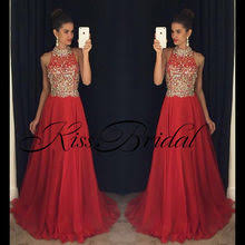 Compare Prices on <b>High Neck</b> Long Prom Dresses Crystal- Online ...