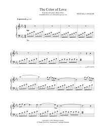 philip wesley sheet music download the color of love sheet music by michael logozar sheet
