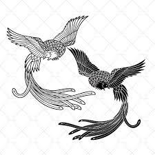 Létající Tetování Fénixu