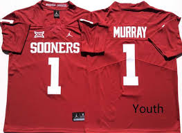 Ncaa Jerseys Ncaa Youth Youth Oklahoma Sooners 1 Kyler