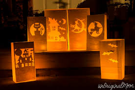 Make glowing Halloween paper bag luminaries with your Silhouette in less  than 10 minutes - great