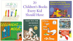 20 children s books every kid should have