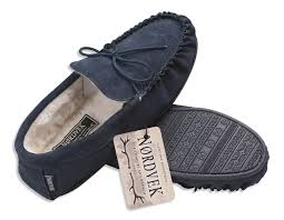Mens Bedroom Slippers Leather Mens Hard Sole Slippers Ebay