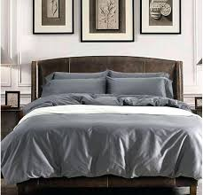 grey bedding sets queen 0 solid cotton sheets king size quilt duvet light cover bedrooms designs alluring 2 comforter