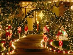 Small Picture Best 25 Outdoor lighted christmas decorations ideas only on