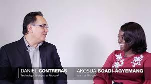 Big Shoulders Akosua Boadi Agyemang Intern At Microsoft