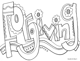 Characteristics Of Successful Students Coloring Page