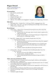 cv resume   eslteachermeganmegan stetzel tesol tutor resume