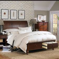 Cambridge King Size Sleigh Bed with Storage Footboard