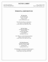 References On A Resume Resume References Examples New Resume References Template Google 67