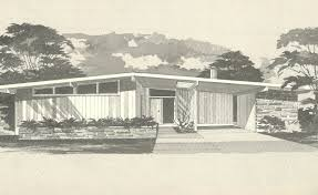 Small Picture Mid Century Modern House Plans House Plans 1960s Homes Vintage