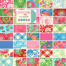 Moda GYPSY GIRL Charm Pack 5  Fabric Squares Lily Ashbury 11460PP ... & Moda GYPSY GIRL Charm Pack 5