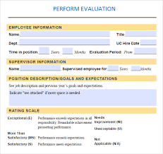 Performance Evaluation 9 Download Free Documents In Pdf Word
