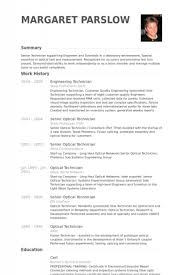 instrument technician resumeengineering technician resume samples visualcv resume  samples - Babysitter Resume Examples