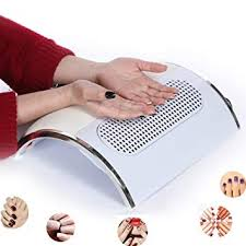 hailicare nail dust collector suction fan with 2 dust collecting bags powerful nail vacuum cleaner