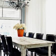 rustic white dining table.  Table Black Velvet Dining Chairs Eclectic And Rustic White Table N