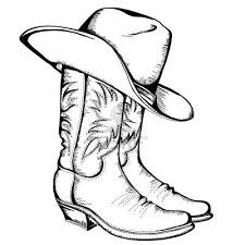 Cowboy Boots Free Coloring Pages On Art Coloring Pages