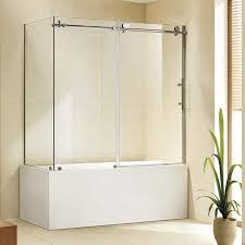 glass shower cubicle corner with sliding door kost k k08t