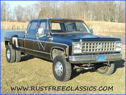 Truck chevy 1980 truck : 1980 80 Chevrolet Chevy Crew Cab Dually K30 1 one ton 4x4 Four ...